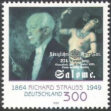 Germany 1999 Strauss/Composer/People/Music/Opera/Art/Nude/Painting 1v (n29525)