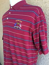 Polo Ralph Lauren Men's Golf RYDER CUP S/S Polo - Burgundy Large A15