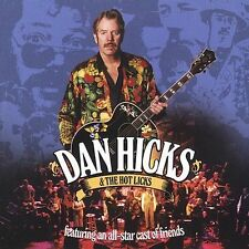 Dan Hicks & The Hot Licks feat. All-Star Cast of Friends [CD/DVD] Free Shipping