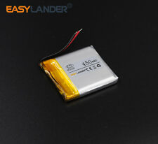 3.7V 450mAh polymer Li-ion Battery 453030 Fr Bluetooth GPS PSP mp3 ebook toy DVD