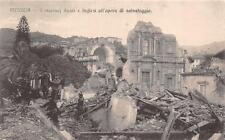 3722) MESSINA TERREMOTO 1908 MARINAI RUSSI E INGLESI ALL'OPERA DI SALVATAGGIO.