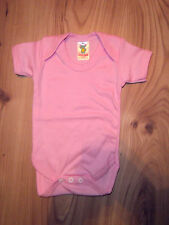 Baby Boy/Girl Body Suits/Popper Vests Short Sleeve Blue, Pink Newborn,0-24 month