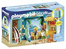 Playmobil Summer Fun Surf Shop Play Box  (for Kids 4 to 10)
