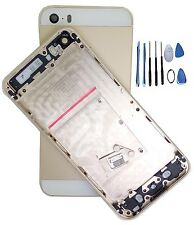new Metal Replace Gold Battery Door Housing Back Cover Case For   Iphone 5S