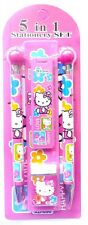 Hello Kitty Novelty 5 in 1 Stationery Pack Birthday Christmas Gift Party Pack