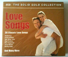 LOVE SONGS - THE SOLID GOLD COLLECTION  2CD NEUF