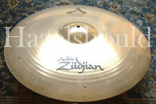 "SOUNDFILE! SHIMMERING Zildjian A CUSTOM 20"" FACTORY SIZZLE Ride! EXCD! 2418 Gs"