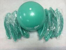 """Pack of 10 New Pilates Yoga 8"""" Green Ball Fitness over ball bender"""