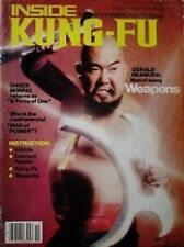 RARE 10/79 INSIDE KUNG MAGAZINE GERALD OKAMURA WEAPONS KARATE MARTIAL ARTS