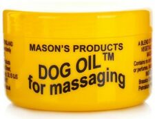 Mason's Products Dog Oil 100g  Massage Cream with Mineral and Vegtable Oils