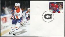 CANADA Sc #2671 (35) MONTREAL CANADIANS TRAVIS MOEN ON SUPERB FIRST DAY COVER