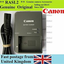 Genuino Original Canon charger,cb-2lze Nb-7l Powershot G10 G11 G12 Sx30 Es,