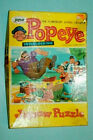 """Vintage 1950s/1960s Popeye Jigsaw Puzzle-""""A Fight to the Finish"""" by Jaymar"""