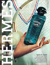 PUBLICITE ADVERTISING 035  1981  HERMES  eau de Cologne