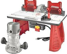 Craftsman Router and Router Table Combo Portable Wood Lumber Woodworking 37595