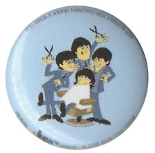 The Beatles ATV Cartoon 1 inch button pin badge Official Merch