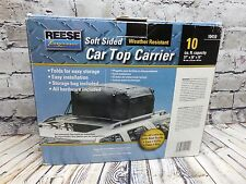 Reese 10410 10 cu. ft. Car Top Carrier Weatherproof Bag Soft sided