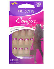 NAILENE COUTURE FALSE NAIL FRENCH DESIGN 71164 STARRY SKY NAILS