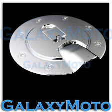 2004-2013 Chevy Colorado Triple Chrome Plated ABS Gas Fuel Tank Door Cover truck