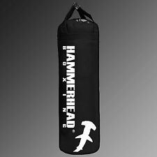 Muay Thai Punching Heavy Kicking Bag 6ft 150lbs BLACK UNFILLED