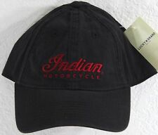 NWT Lucky Brand Indian Motorcycle Baseball Hat Cap Adjustable