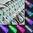100PCS WS2811 5050 RGB LED Module SMD 3leds Waterproof 12V DC Super Bright