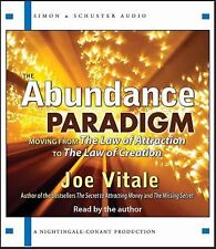 NEW 2 CD The Abundance Paradigm Joe Vitale (Nightingale Conant )
