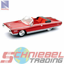 1964 Chrysler Turbine Car [NewRay 48084B] Rot, 1:43 Die Cast