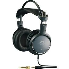 JVC HARX700 High-Grade Full-Size Headphone, Black, Deep bass sound, 50mm driver