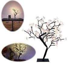 LED Desk Lamp Art Decoration Table Night Light Decor Flower Bedroom Home Office