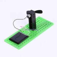 Creative Kids Children Solar Power Fan Science Experiment Educational Toy Gift