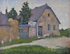 Unknown Central European artist, House at the countryside