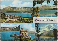 LAGO DI S.CROCE - VEDUTINE - FARRA D'ALPAGO (BELLUNO) 1963