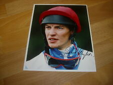 Richard HUGHES  Horse Racing Jockey 09/07/96  Original Hand SIGNED Press Photo