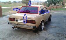 for TOYOTA Corolla E70 KE70 TE71 sedan rear windshield rubber seal weatherstrip
