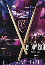 Buddy Rich and His Band: The Lost Tapes (2005, DVD NIEUW) Amaray