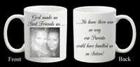 Personalised Photo Mug Best Friend Friends Birthday Christmas Gift Present
