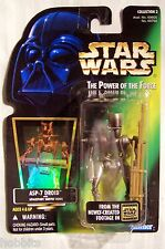 Star Wars - POTF - ASP-7 Droid - Green Card - New - MOC