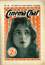 108 Vintage Movie Magazine 1910's-1950's {.pdf on DVD} Cinema Chat, Movie Weekly