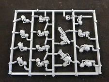 40K Space Marine Terminator Storm Bolter Power Fist Weapons Etc on Plastic Frame