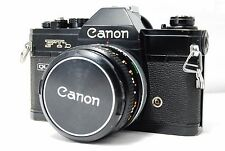 Canon Ftb QL 35mm SLR Film Camera  w/FD 50mm F1.8 S.C.  SN358109