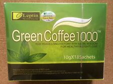 LEPTIN GREEN COFFEE 1000 SLIMMING DIET APPROVED SUPPLIER - BEWARE OF FAKES.
