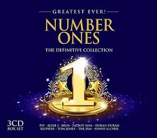 Number Ones-Greatest ever 3 CD NUOVO Diana Ross/Sonny & Cher/a distanza Kinney