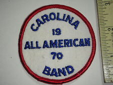 VINTAGE CAROLINA 1970 ALL AMERICAN BAND MUSIC BAND LEADER  BX H 7