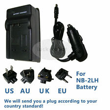 Battery Charger for Canon NB-2LH NB-2L BP-2L5 E160814 EOS 400D 350D G9 G7
