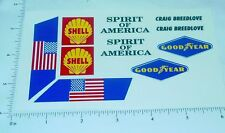 Wen Mac Spirit of America Land Speed Stickers    WM-001