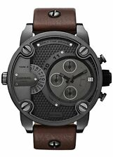 NEW DIESEL DZ7258 MENS BABY DADDY CHRONOGRAPH WATCH - 2 YEAR WARRANTY