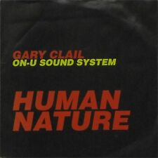 """GARY CLAIL ON-U SOUND SYSTEM 'HUMAN NATURE' UK PICTURE SLEEVE 7"""" SINGLE"""