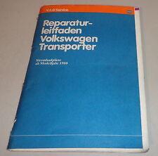 Werkstatthandbuch Volkswagen VW Transporter Bus T3 Stromlaufpläne MJ 1980 - 1985