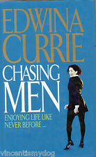 Chasing Men by Edwina Currie (BCA edition hardback, 2000)